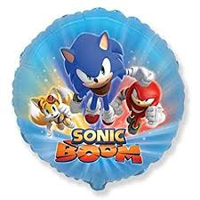 Sonic Boom The Hedgehog Standard Balloon