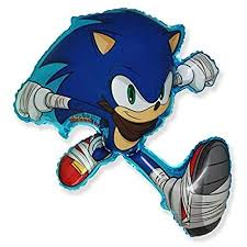 Sonic Boom Hedgehog Supershape Balloon