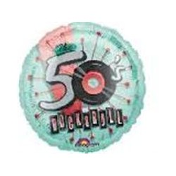 Rock N Roll 50s Standard Balloon
