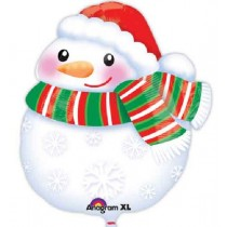 Junior Shape Cute Snowman Standard Balloon