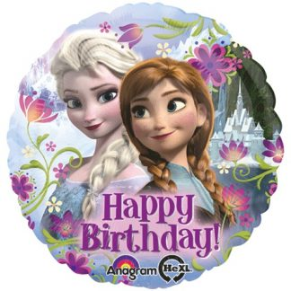 Happy Birthday Frozen Standard Balloon