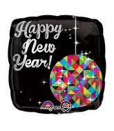 New Year Ball Drop Standard Balloon