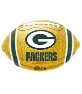 Green Bay Packers Ball Standard Balloon