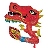 Red Chinese Dragon Supershape Balloon