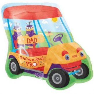 Pro Dad Golf Cart Supershape Balloon