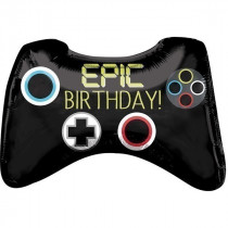 Controller Epic Birthday Supershape Balloon