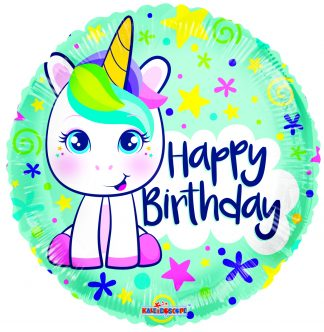 Cute Unicorn Gellibean Standard Balloon