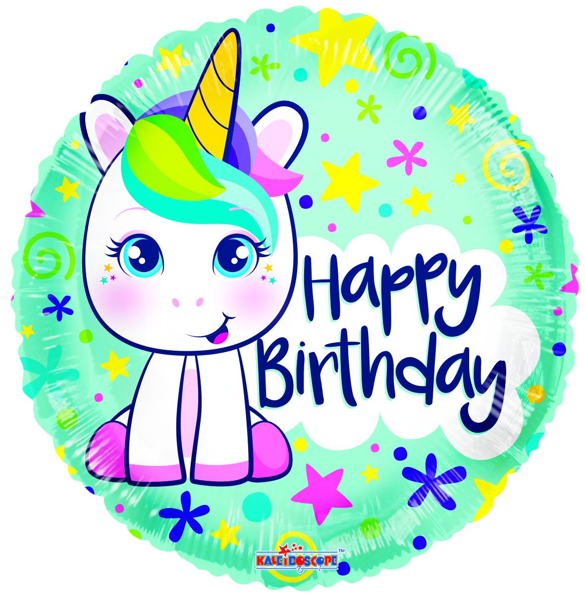 Cute Unicorn Gellibean Standard Balloon