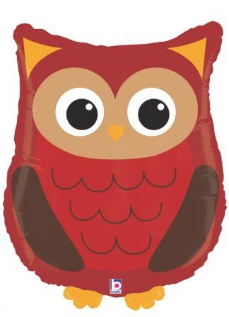 Woodland Owl Supershape Balloon