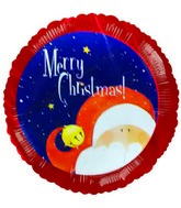 Merry Christmas Santa Air Fill Balloon