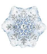Prism Snowflake Air Fill Balloon