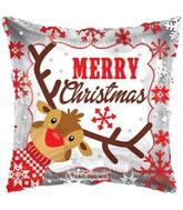 Merry Christmas Reindeer Air Fill Balloon