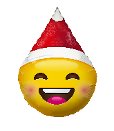 Christmas Emoji Air Fill Balloon