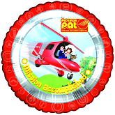 Postman Pat Mission Accomplished Standard Balloon
