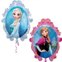 Elsa Anna Frozen Frame Supershape Balloon