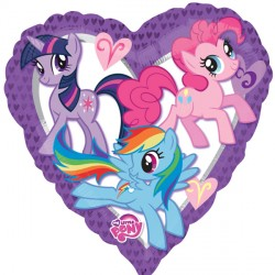 My Little Pony Purple Heart Standard Balloon