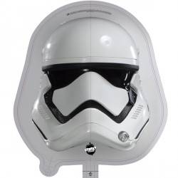 Star Wars Storm Trooper Head Junior Shape Balloon