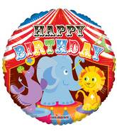 Big Top Circus Animals Standard Balloon