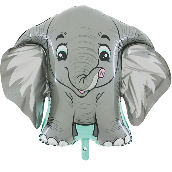 Dumbo Style Elephant Supershape Balloon