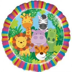 Jungle Friends Standard Balloon