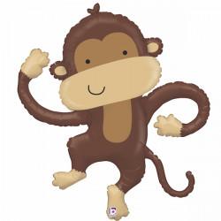 Linking Monkey Supershape Balloon
