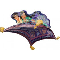 Aladdin & Jasmine Supershape Balloon