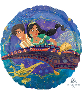 Aladdin Magic Carpet Standard Balloon