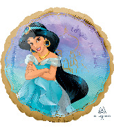 Princess Jasmine Aladdin Standard Balloon