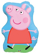 Peppa Pig Strolling Supershape Balloon