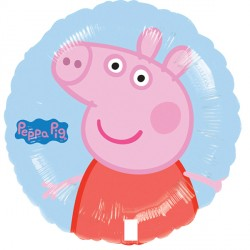 Peppa Pig Blue Standard Balloon