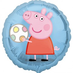 Peppa Pig & Ball Standard Balloon