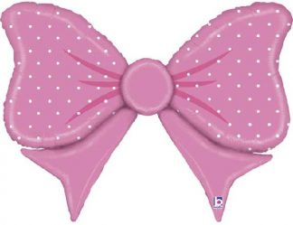 Pink Bow Large Shape Balloon