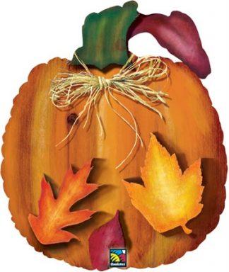 Harvest Pumpkin Supershape Balloon