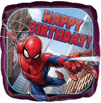 Happy Birthday Spider-Man Balloon
