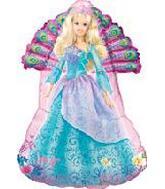 Barbie Island Princess Supershape Balloon
