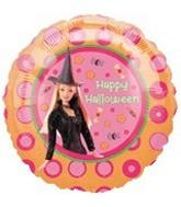 Barbie Halloween Standard Balloon