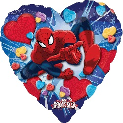 Ultimate Spider-Man Heart Balloon