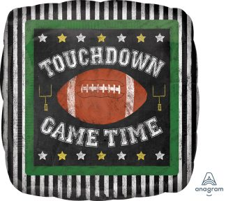 Touchdown Game Time Standard Balloon