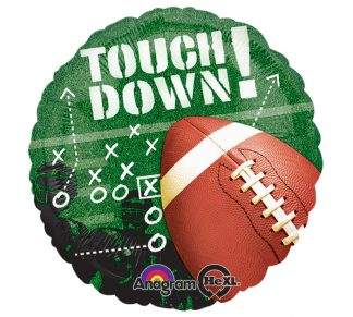 Touchdown Football Fever Standard Balloon