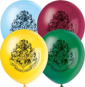 Set Of 8 Harry Potter Latex Balloons