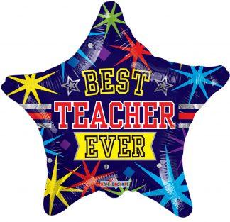 Best Teacher Ever Standard Balloon